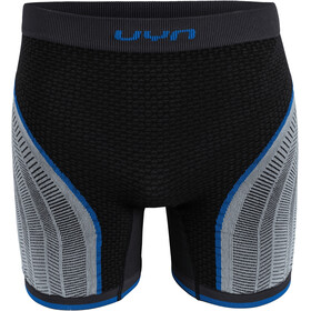 UYN Running Alpha OW Pants Shorts Men charcoal/pearl grey/blue